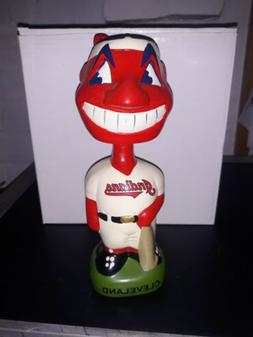 Cleveland Indians Chief Wahoo Bobblehead 1999 TEI Green Base