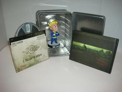 Fallout 3 Collectors Lunchbox, Bobblehead, Making of DVD & A