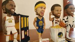 Golden State Warriors 6 Bobbleheads- Steph Curry, Klay Thomp