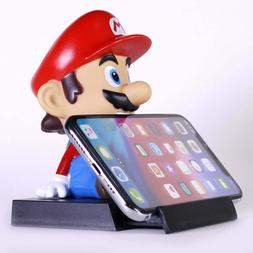 Mario Bros Bobble Head Figure and Cell Phone Holder for Offi