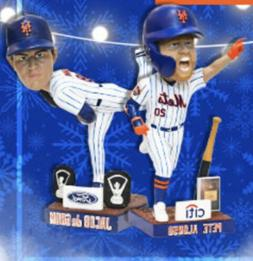 New York NY Mets Jacob deGrom & Pete Alonso Exclusive STH bo