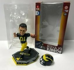 Tom Brady with Removable Helmet Limited Edition Michigan Wol